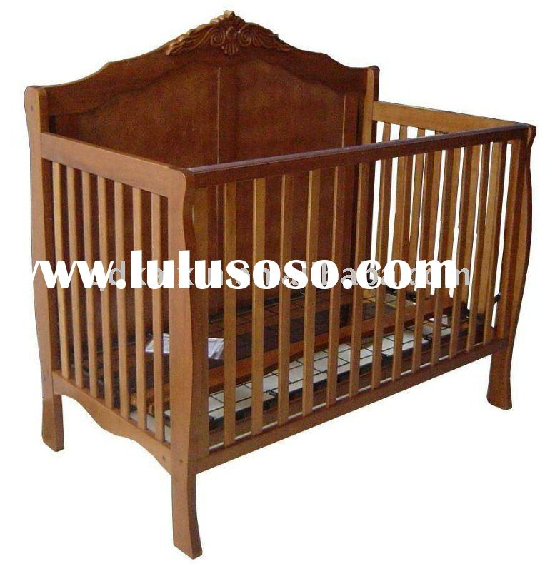kaixin qingdao china wooden baby cot/baby bed/ baby crib