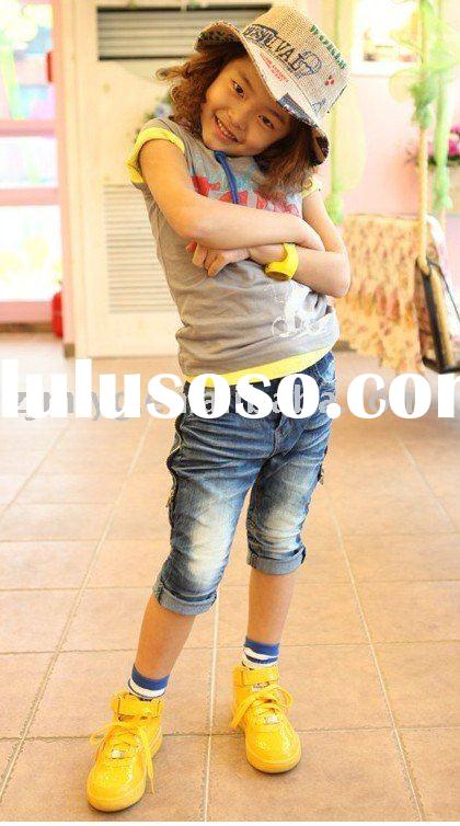 kid wear children's jeans 2011latest fashion child jeans