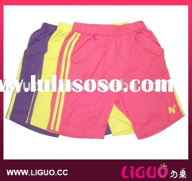 kids pants, girls sports shorts
