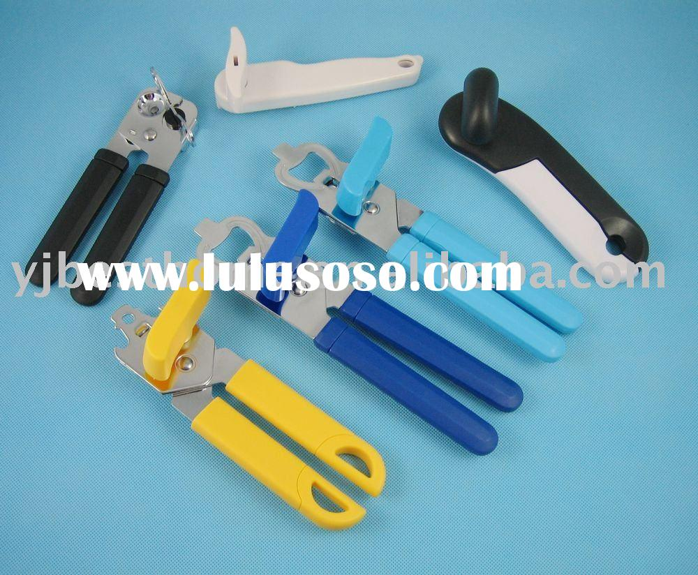 kitchen gadget, can opener with plastic handle