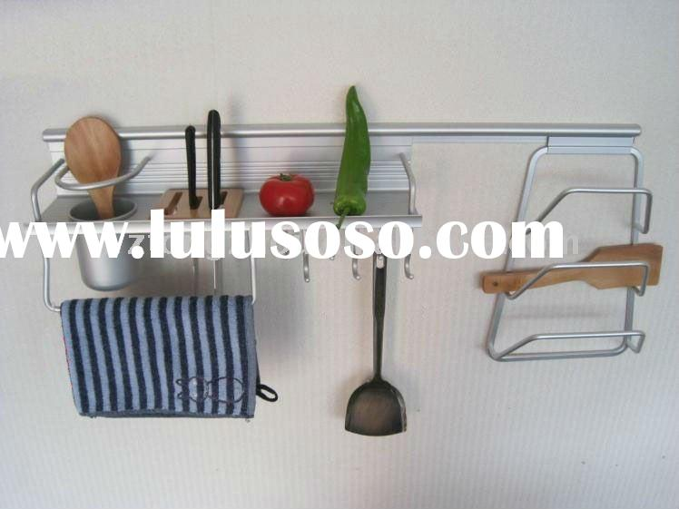 kitchen spice & towel rack
