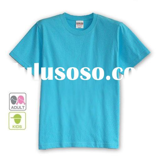 ladies and men plain t-shirts OEM Service provided