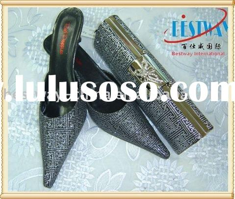 ladies evening shoes and bag