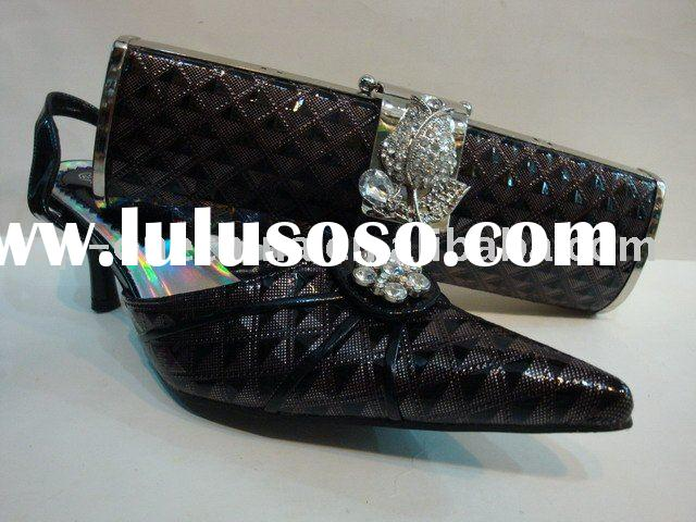 ladies evening shoes with matching bags
