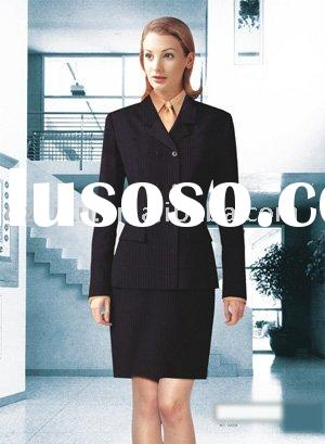 lady office uniform