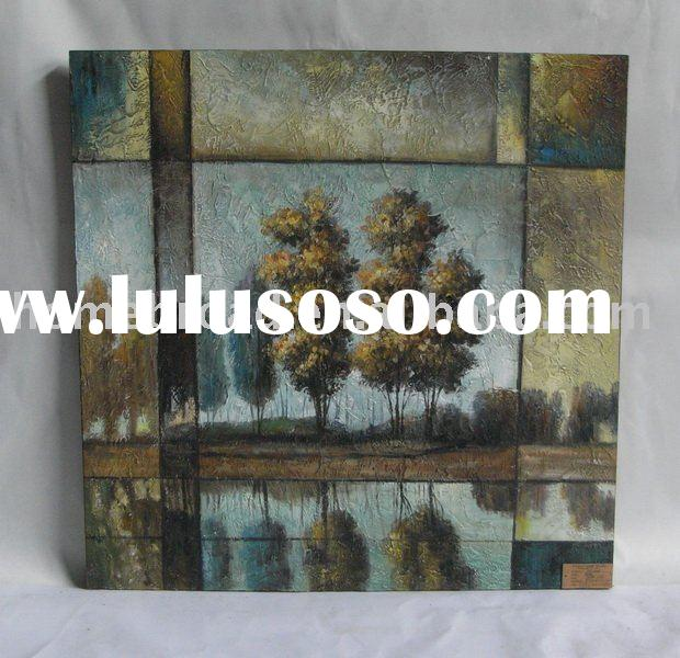 landscape canvas oil painting
