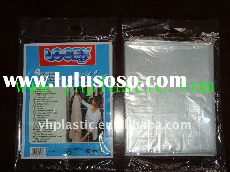 ldpe disposable plastic garment bags cloth cover