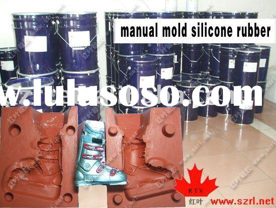 liquid silicone rubber for plastic craftworks manual molds