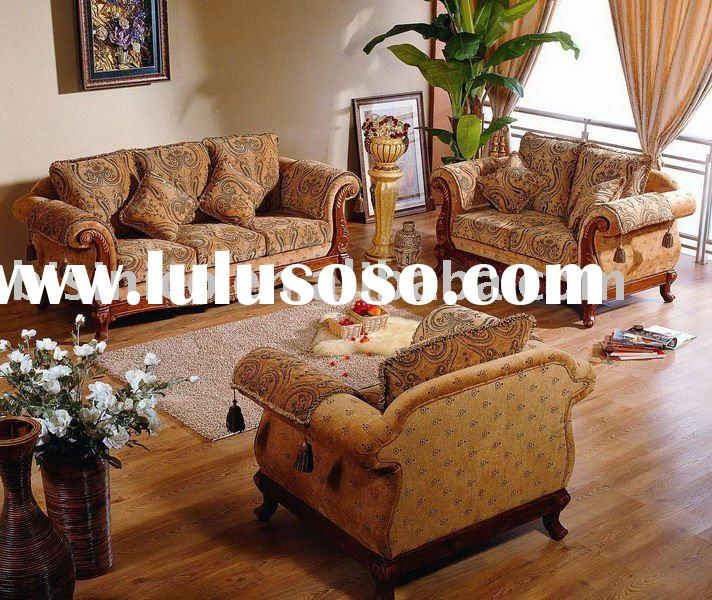 luxury french style fabric sofa set chesterfield sofa quite comfortable.