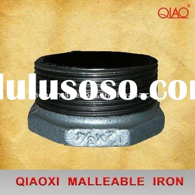 malleable iron pipe fitting galvanized bushing M&F