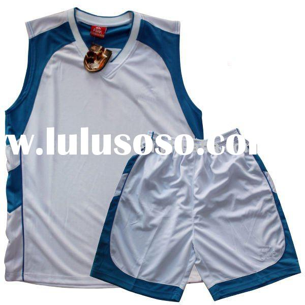 men' high quality basketball uniform design for sports wear