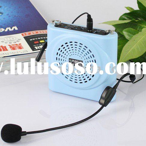 mini portable amplifier with headset condenser microphone