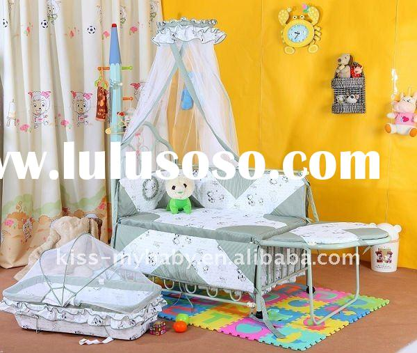 modern baby cribs,Palace mosquito net,European style cradle,TC-406
