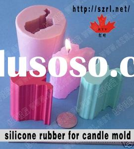 molding silicone rubber for candle mold