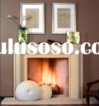 natural stone fireplace decoration