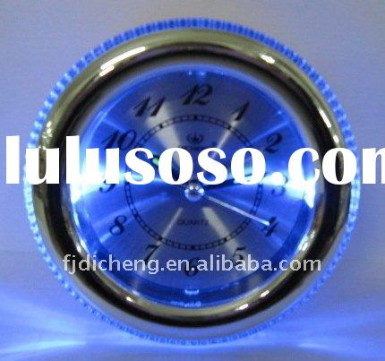 new novelty plastic blue light table alarm led clock
