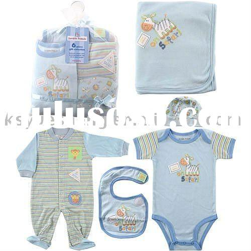 organic cotton baby clothes set
