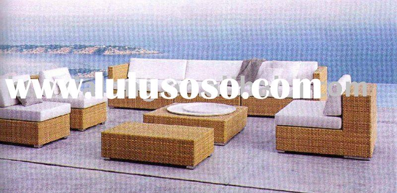 outdoor rattan sofa set new design
