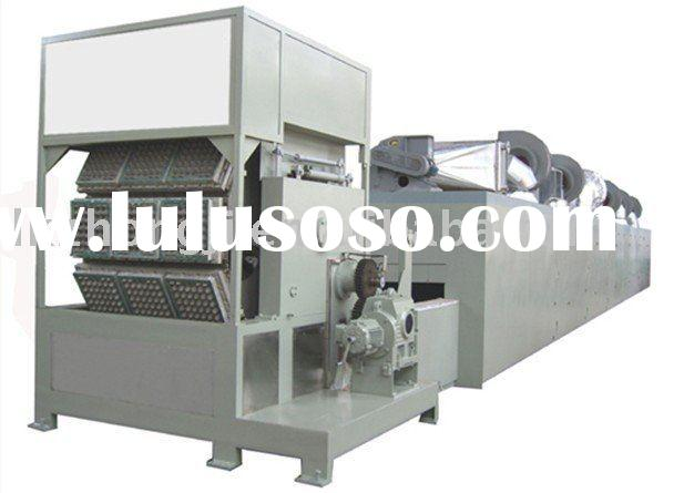 paper egg tray product line/pulp molding machine