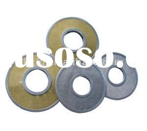 perforated stainless steel wire mesh disc filter /fluid filter mesh disc