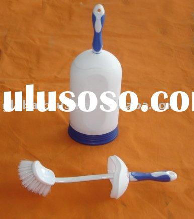plastic toilet bathroom brush holder-HQ 1876