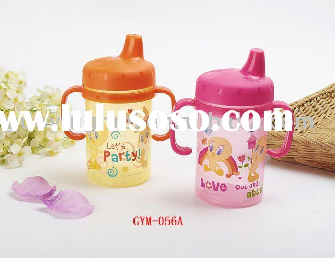 plastic water bottle for kids, drink bottle with handle
