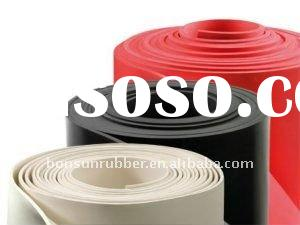 plate finish neoprene rubber sheet roll
