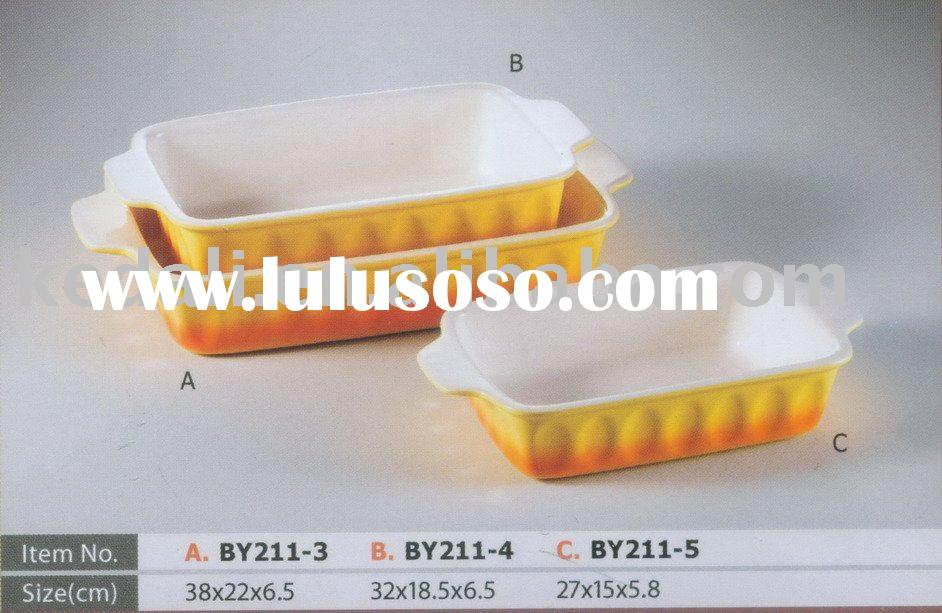 procelain rectangular porcelain baking dish