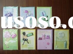 professional greeting cards/greeting card/paper card/handmade decoration everyday card/everyday card