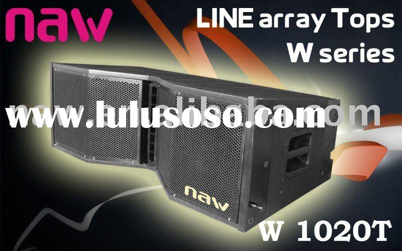 professional line array speaker