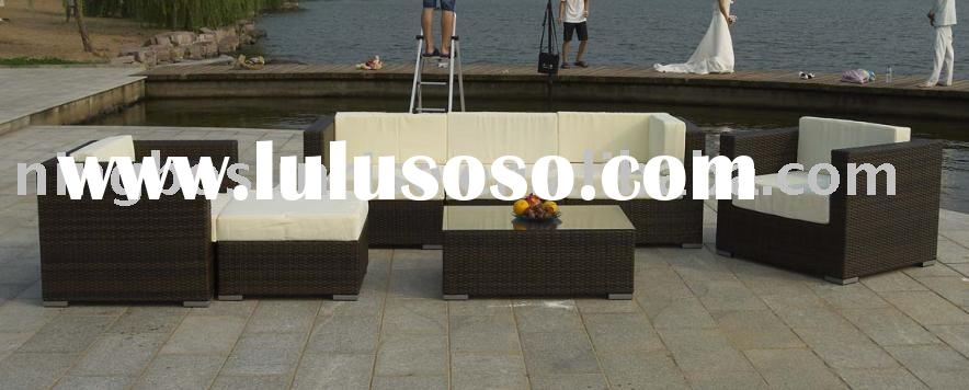 rattan sofa/garden wicker sofa set/outdoor rattan furniture/outdoor furniture/ outdoor rattan produc
