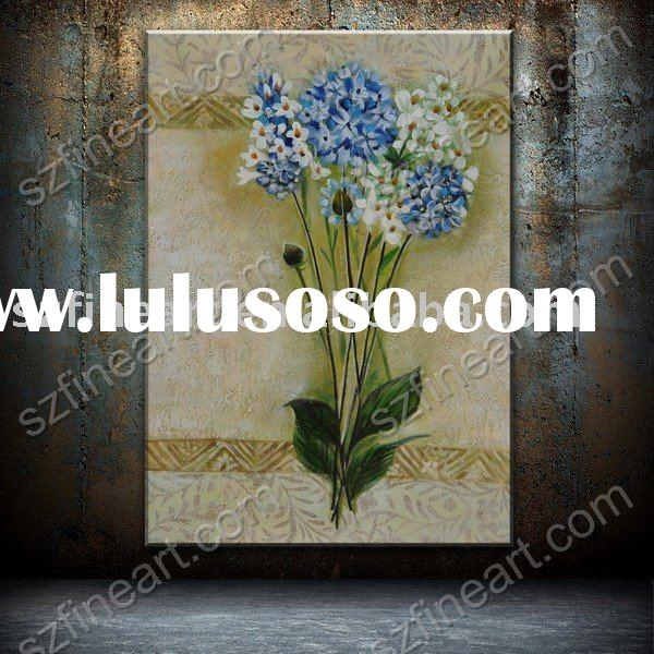 realistic floral oil painting on canvas, stand still oil painting