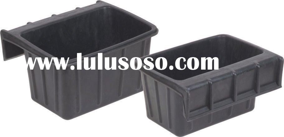 recycled rubber tub,horse feeder,rubber container