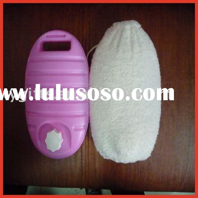 rubber hot water bottle,