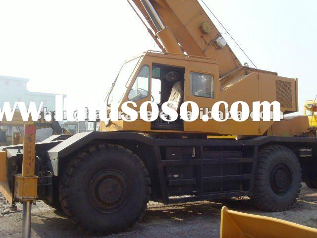 sales offer used KATO RK500 rough terrain crane 50 ton in good condition