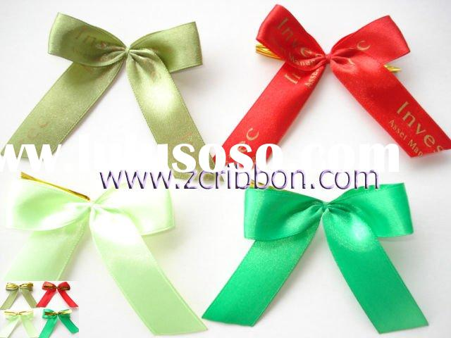 satin butterfly bow, ribbon bow