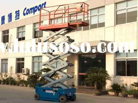 self-propelled hydraulic scissor lift table