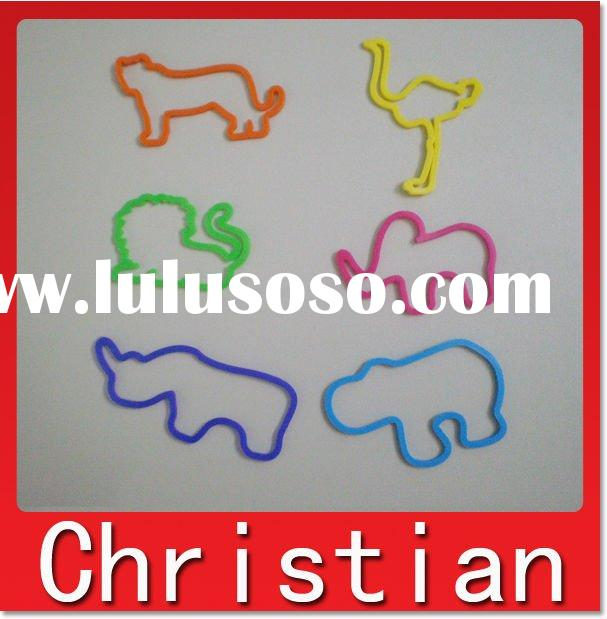 silicone shaped rubber band 06