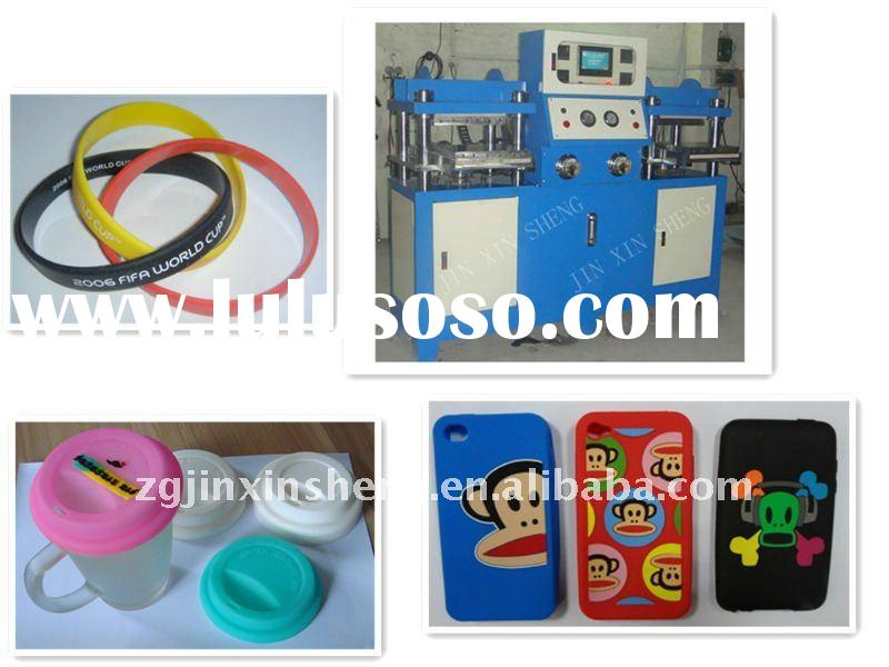 silicone wristband machine,silicone mobile phone coat,silicone tea cup pad machine