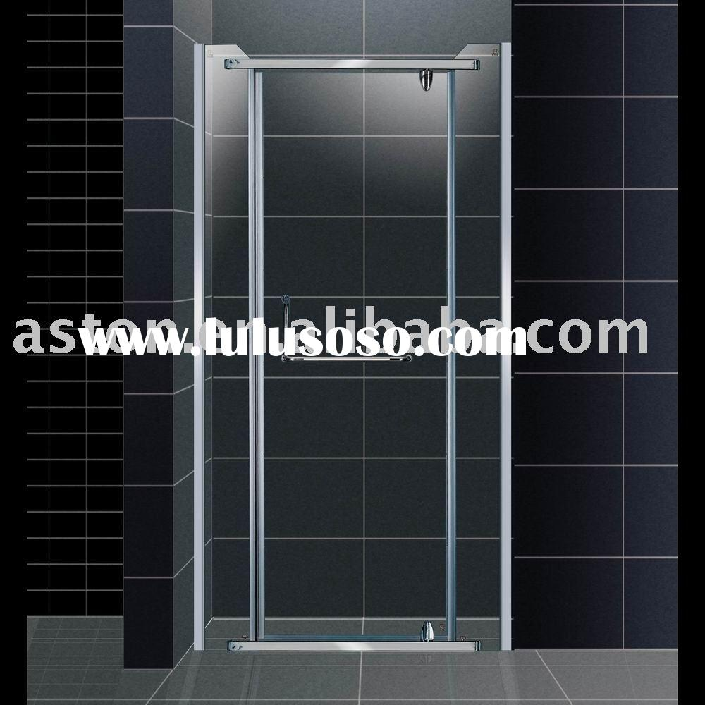 simple tempered glass shower bath door