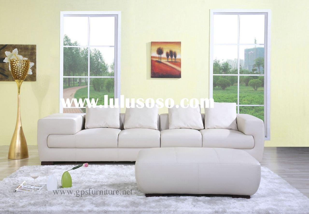 sofa, leather sofa , corner sofa , S-165, modern sofa