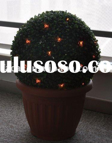 solar garden light / LED solar light ( solar topiary bush)