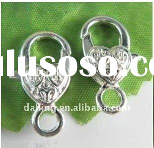 stainless steel magnetic clasps ,jewelry lobster clasp ,push pin hook