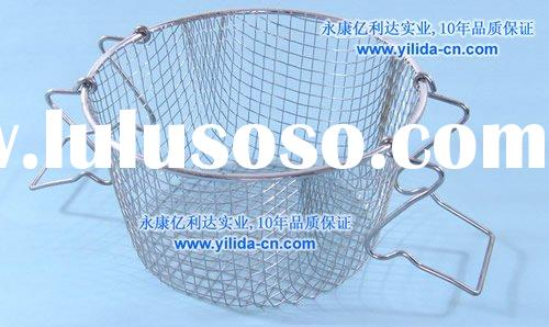 stainless steel mesh wire fry basket