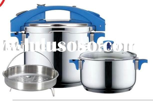stainless steel pressure cooker twin set
