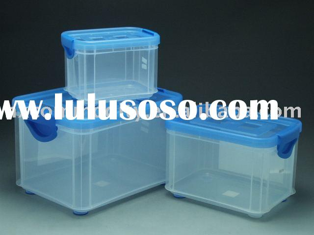 storage container with wheel,plastic box,plastic storage container,plastic storage box