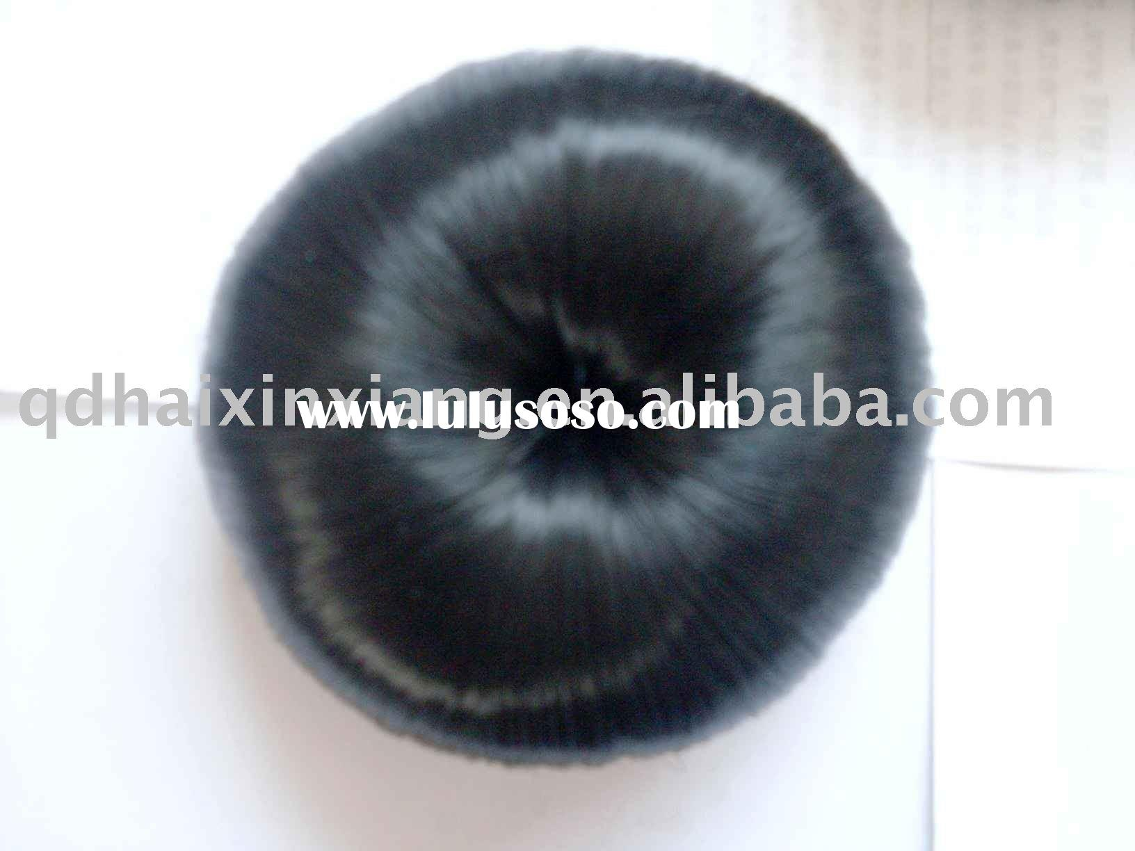 synthetic Dome, synthetic hair bun, fashion synthetic hair piece