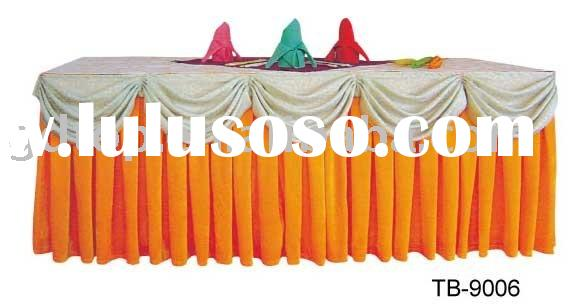 banquet table skirts 2