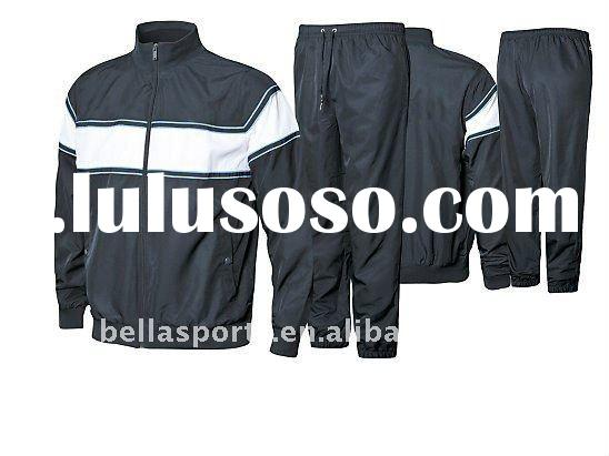 tracksuits for high school training wear,sports garment for jogging