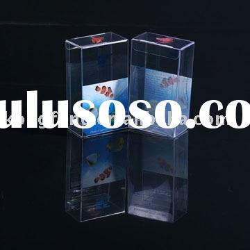 transparent clear plastic folding storage acetate PET PP PVC packaging box